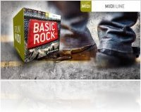 Virtual Instrument : Toontrack Launches Basic Rock MIDI - macmusic