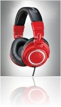 Audio Hardware : Audio-Technica Introduces ATH-M50RD Red - macmusic