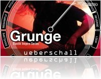 Virtual Instrument : Ueberschall Announces the Availability of Grunge - macmusic