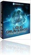 Instrument Virtuel : Producerloops Lance Liquid Drum & Bass: The MIDI Sessions Vol 1 - macmusic
