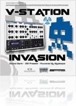 Virtual Instrument : V-Station Invasion Sound Bank by Gigaloops - macmusic