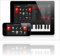 Instrument Virtuel : IK Multimedia Met à Jour SampleTank App pour iPhone 5 - macmusic