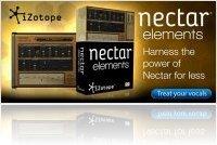 Plug-ins : IZotope Annonce Nectar Elements - macmusic