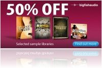 Virtual Instrument : 50% off Big Fish Audio Samples this Easter! - macmusic