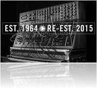 Music Hardware : The Return Of The Moog Modular - macmusic