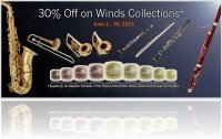 Virtual Instrument : 30% Off on Vienna Winds Collections - macmusic