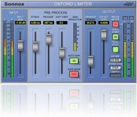 Plug-ins : Oxford Limiter for AAX Released - macmusic