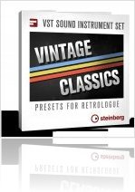 Virtual Instrument : Steinberg Announced the Release of Vintage Classics - macmusic