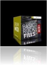 Instrument Virtuel : Toontrack Lance une nouvelle Banque MIDI Basic Rock - macmusic
