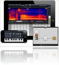 Instrument Virtuel : IVoxel Vocoder supporte Audiobus et iPhone 5 - macmusic