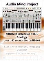 Logiciel Musique : Ultimate Expansion Vol. 1: Analogy pour LuSH-101 - macmusic