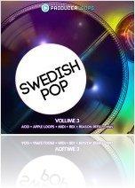 Instrument Virtuel : Producerloops Présente Swedish Pop Vol 3 - macmusic