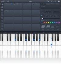 Logiciel Musique : ChordPolyPad - Joueur d'accords Midi pour iPhone et iPad - macmusic
