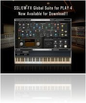 Virtual Instrument : EASTWEST Announces SSL/EW FX Suite for PLAY4 - macmusic