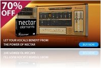 Instrument Virtuel : IZotope Nectar Elements 70% de remise - macmusic