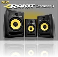 Audio Hardware : KRK Systems Releases ROKIT G3 Studio Monitors - macmusic