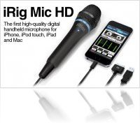 Mat�riel Audio : Ik Multimedia annonce iRig Mic HD - macmusic