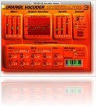 Plug-ins : Orange Vocoder 2.0 RTAS is now shipping ! - macmusic